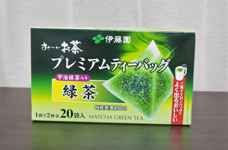 伊藤園お~いお茶プレミアムティーバッグ宇治抹茶入り緑茶
