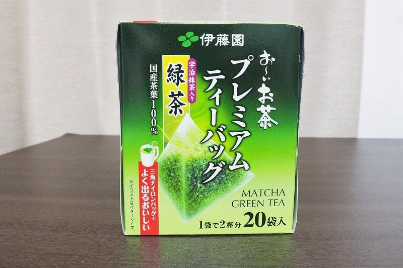 おーいお茶プレミアムティーバッグ緑茶