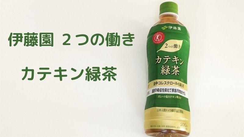 伊藤園 2つの働きカテキン緑茶